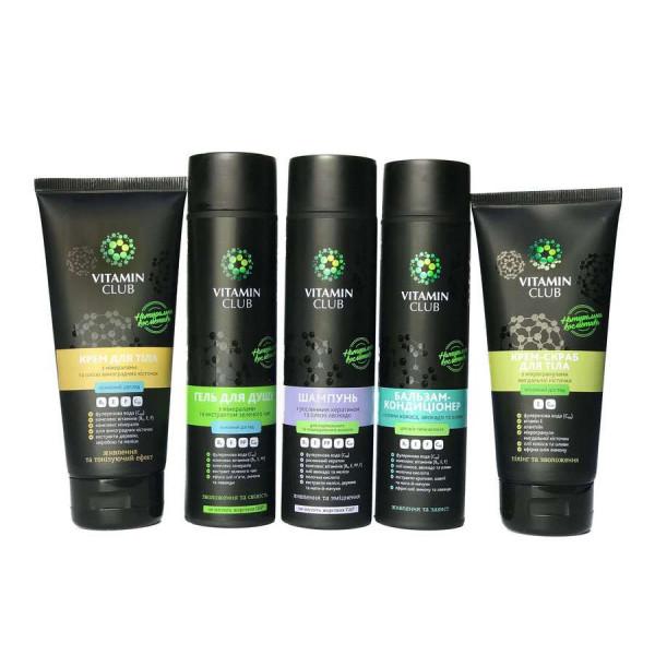 АБСОЛЮТНЕ ЖИВЛЕННЯ. Набір доглядових засобів для шкіри тіла та волосся з оліями, екстрактами та мінералами - фото на Vitaminclub